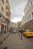 Colonial streets of Quito Royalty Free Stock Photography
