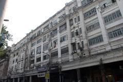 Colonial style building built in 1930, Park Street in Kolkata Royalty Free Stock Image