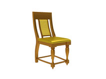 Colonial style chair Stock Photo