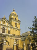 Colonial Style Church in the City of Lima Royalty Free Stock Photography