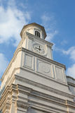 Colonial Style Clock Tower Royalty Free Stock Photo