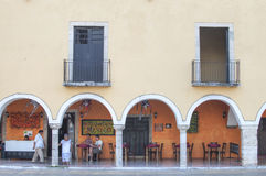 Colonial style Mexican restaurant Royalty Free Stock Photo