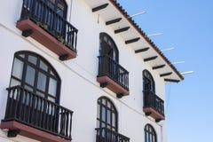 Colonial style in San Cristobal de las Casas, Chiapas Stock Photos