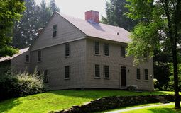 Colonial temprano de Nueva Inglaterra Fotos de archivo
