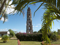 Colonial tower in Cuba. Stock Photography