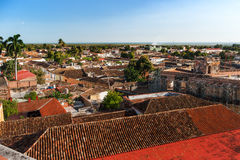 Colonial town cityscape of Trinidad, Cuba. UNESCO World Heritage Stock Images