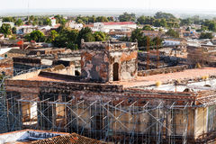 Colonial town cityscape of Trinidad, Cuba. UNESCO World Heritage Royalty Free Stock Photo