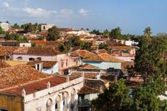 Colonial town cityscape of Trinidad, Cuba. Stock Photos