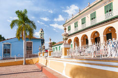 Colonial town cityscape of Trinidad, Cuba. Stock Photography