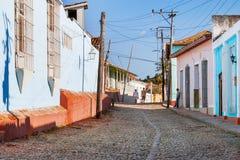 Colonial town cityscape of Trinidad, Cuba. Stock Photo