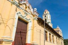 Trinidad, Cuba. UNESCO World Heritage Site. Tower of Museo Nacional de la Lucha Contra Bandidos royalty free stock images