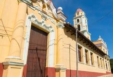 Trinidad, Cuba. UNESCO World Heritage Site. Tower of Museo Nacional de la Lucha Contra Bandidos stock image