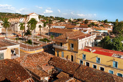 Colonial town cityscape of Trinidad, Cuba. UNESCO World Heritage Stock Photography