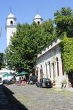 Colonial town of Colonia del Sacramento in Uruguay Stock Photos