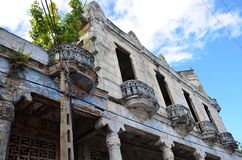 Colonial town Pinar del Río, Cuba. Pinar del Río and its destroyed colonial architecture, Cuba Stock Image