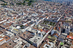 Colonial town of Quito Stock Images