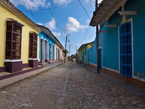 The colonial town of Trinidad in CubaA Stock Photo