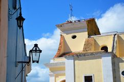Colonial Trinidad and its streets, Cuba Royalty Free Stock Photo