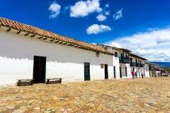Colonial Villa de Leyva Stock Images