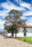 Colonial Villa de Leyva View Royalty Free Stock Photos