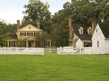 Colonial Village Royalty Free Stock Photos