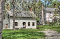 Colonial Village Allaire. Colonial Village in the spring at Allaire state park Royalty Free Stock Photo