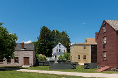 Colonial Village Royalty Free Stock Image