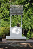 Colonial water well stock images