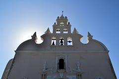 Colonial white washed church, Merida, Yucatan Royalty Free Stock Photos