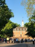 Colonial Williamsburg architecture and travel. stock photos