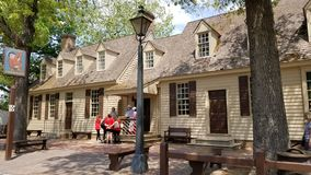 Colonial Williamsburg architecture. royalty free stock image
