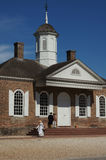 Colonial Williamsburg Courthouse Stock Photography