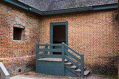 Colonial Williamsburg Jail Royalty Free Stock Photo