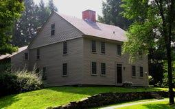 Coloniale in anticipo della Nuova Inghilterra Fotografie Stock