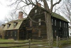Coloniale in anticipo della Nuova Inghilterra Fotografia Stock Libera da Diritti