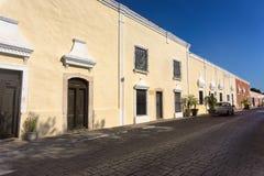 Coloniale Valladolid, Messico immagine stock libera da diritti