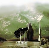 Colonizando otros planetas libre illustration