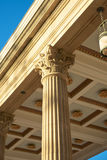 Colonna alta del Corinthian Immagine Stock