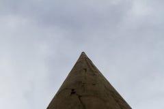 Colonna alta di calcestruzzo Immagine Stock Libera da Diritti