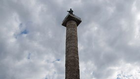 Colonna Antonina in Rome, Italy stock video footage