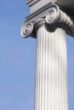 Colonna bianca alta Immagine Stock