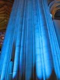 Colonna blu Immagine Stock Libera da Diritti