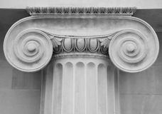 Colonna classica Immagini Stock Libere da Diritti