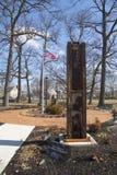 Colonna dal sito del World Trade Center all'11 settembre Rockway orientale commemorativo Fotografie Stock