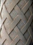 Colonna decorata del cemento Immagine Stock