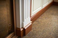 Colonna decorativa della mobilia di Wooding Fotografia Stock