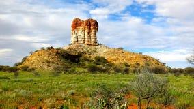 Colonna degli alloggiamenti, territorio settentrionale, Australia Immagine Stock