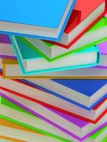Colonna dei libri Immagine Stock