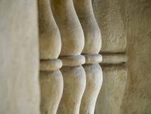 Colonna del balcone Fotografia Stock Libera da Diritti