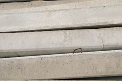 Colonna del cemento fotografia stock libera da diritti